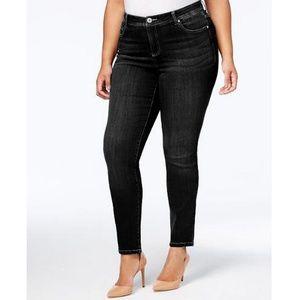 INC Denim Skinny Leg Jeans Flap Pocket PLUS